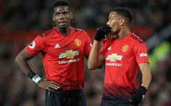 Foot - Angleterre - MU - Anthony Martial et Paul Pogba titulaires avec Manchester United pour affronter Liverpool
